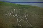 О необычном английском геоглифе - обнаженном великане Керн-Аббасе.