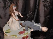 """торт """"Развод"""""""