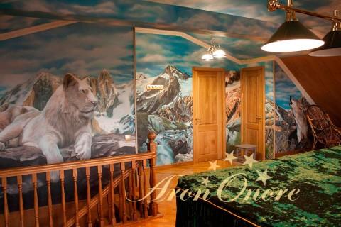 Роспись стен в вашем жилище